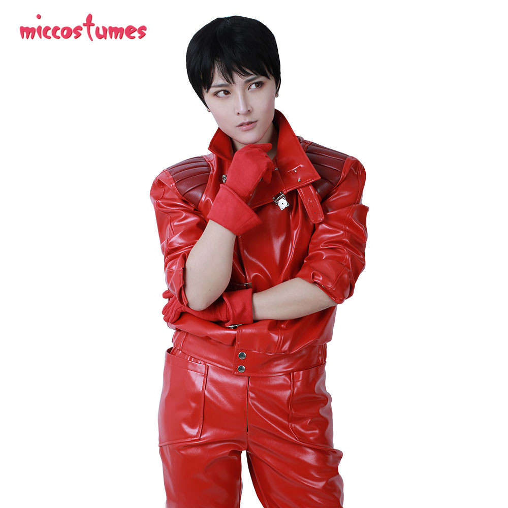 Akira Cosplay Shotaro Kaneda Cosplay Motorcycle Clothing Jacket Halloween Fancy Outfit