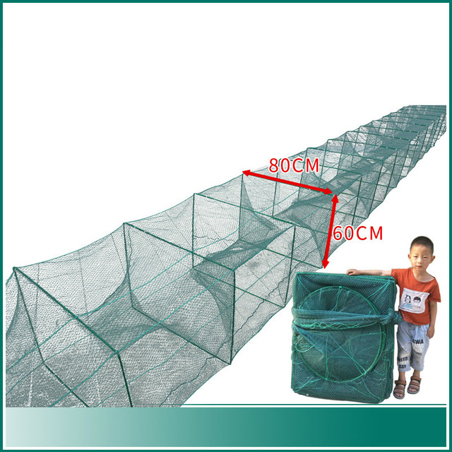 Amazing No.1 Nylon Fishing Nets Multifunctional Portable Fishing Accessories cb5feb1b7314637725a2e7: A|B