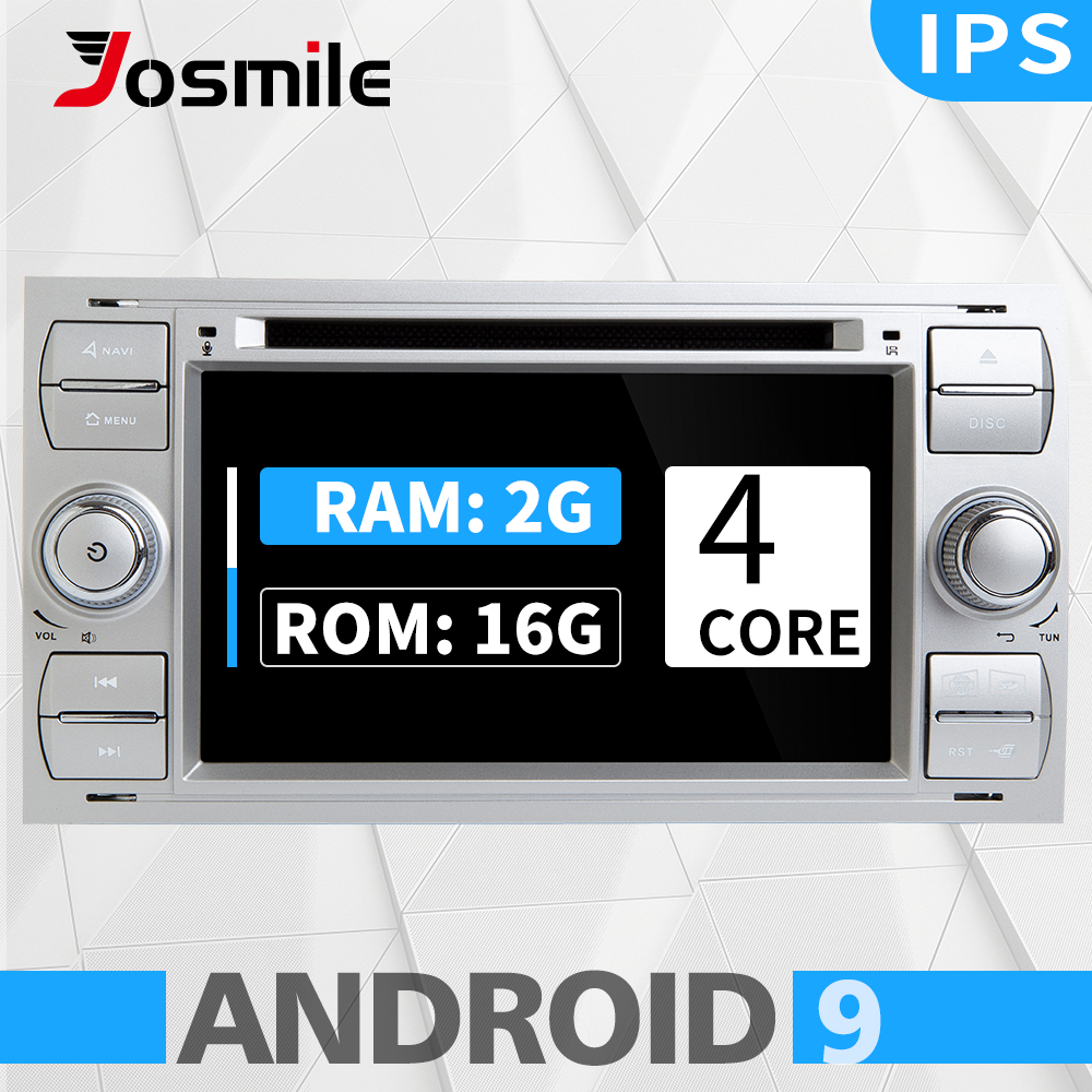 4 core 2G Ram Android 9 Car DVD player For <font><b>Ford</b></font> Focus 23 mk2 Mondeo 4 Kuga Fiesta <font><b>Transit</b></font> Connect S-C MAX <font><b>GPS</b></font> Navigation Camera image