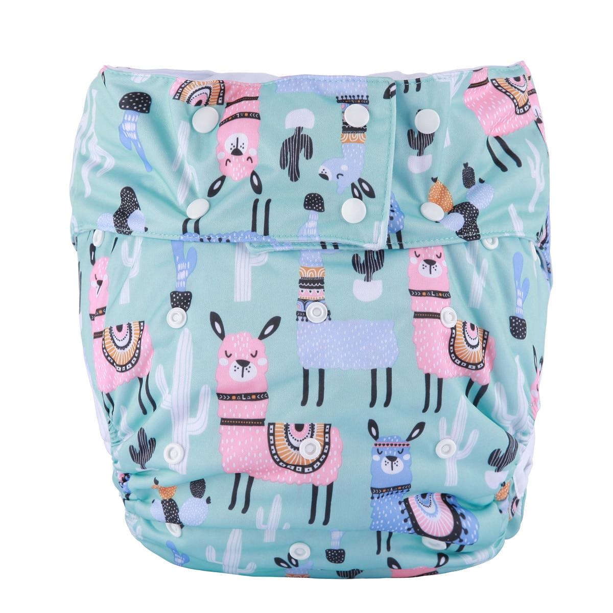 Подгузник из ткани [sigзагор] для 1 подростка для взрослых, подгузник с карманом, недержание мочи, водонепроницаемые многоразовые подгузники ...