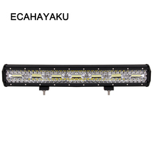 ECAHAYAKU 20 inch 420W LED work Light Bar Driving Offroad Boat Car Tractor Truck 4x4 SUV ATV 12V 24V combo beam driving lights стоимость