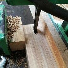 4 шт. HSS спиральные сверла деревообрабатывающие сверла набор инструментов квадратный шнек долбежное долото набор сверл квадратное отверстие Расширенная пила