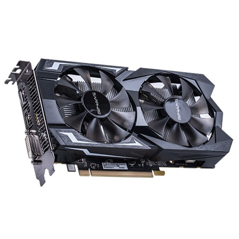 SAPPHIRE RX 560 4GB Video Card GPU Radeon RX 560D 4G RX560 RX560D Graphics Cards Computer Game For AMD Video Card Map HDMI PCI-E 2