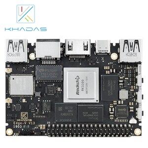 Image 3 - חדש Khadas SBC קצה V פרו RK3399 עם 4G DDR4 + 32GB EMMC5.1 אחת לוח מחשב