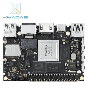 Image 3 - 新しい khadas sbc エッジ v プロ RK3399 と 4 グラム DDR4 + 32 ギガバイト EMMC5.1 シングルボードコンピュータ