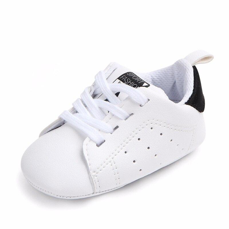 Chaussures bébé Garçon Fille Solide Sneaker Coton Doux Semelle Antidérapante Nouveau-Né Infantile Premiers Marcheurs Bambin décontracté Sport Chaussures de Berceau 32