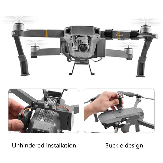 1Set Professional Wedding Proposal Delivery Device Dispenser Thrower Drone Air Dropping Transport Gift for DJI Mavic Pro Accesso