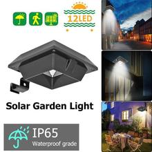 12LED Solar Light Waterproof Outdoor Motion Sensor Garden Yard Wall Lamp
