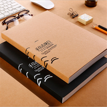 A4 Hand-Painted Travel Sketchbook Kraft Cover Paint Paper Color Lead Needle Pen Painting Diary Journal Student Notepad Memo
