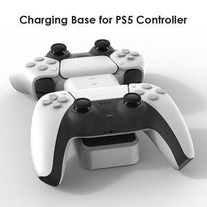 Image 5 - ل PS5 تحكم شاحن مزدوج USB جهاز شحن سريع محطة الوقوف مع USB خارجي ل بلاي ستيشن 5 DualSense اكسسوارات