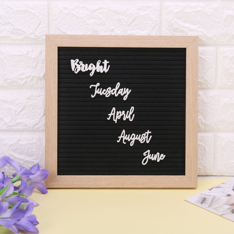 Characters For Felt Letter Board Month Week Letters For Changeable Letter Board AXYF