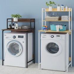 Estante máquina de lavado, suelo tipo balcón, rodillo sobre almacenamiento, estante de baño