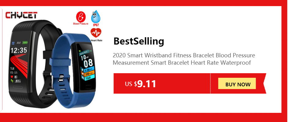 H714b744df33a4338bd690103a707e08cW Smart Fitness Bracelet Blood Pressure Measurement Fitness Tracker Waterproof Smart Band Watch Heart Rate Tracker For Women Men