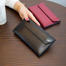 Letras de luxo high-end couro senhoras carteira titular do cartão bolsa de embreagem casual senhora carteira zíper bolso fivela senhora carteira feminina