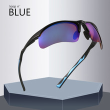 Loop'n blue sunglasses Brand Design stylish Sun glasses Men