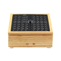 Difusor ultrasónico de Aroma XMX  humidificador de aire  caja de madera  difusor de aceite esencial  vaporizador  humidificador de aromaterapia para el hogar  120Ml