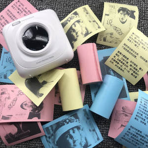 3pcs/Set Paper-Paste Thermal-Sticker Self-Adhesive POS Printing for Small Mach Bill-Receipt