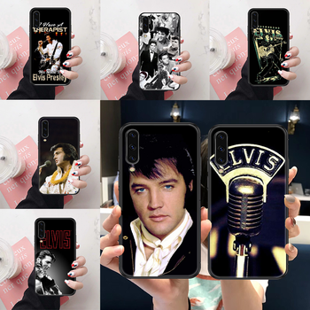 Singer Elvis Presley Phone case For Samsung Galaxy A 3 5 7 8 10 20 21 30 40 50 51 70 71 E S 2016 2018 4G black art shell pretty image