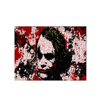 150x200cm Famous Abstract Joker Pop painting Canvas Painting Digital Print Art Picture Living Room Home Decor Print Wall Poster