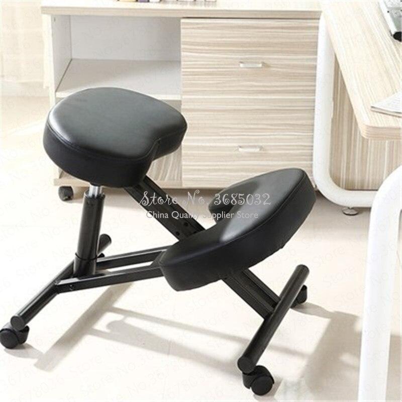 Hot Spine Correction Office Chair Ergonomic Metal Chair Lift Anti-humpback Myopia Child Posture Posture Chair  Desk Chair