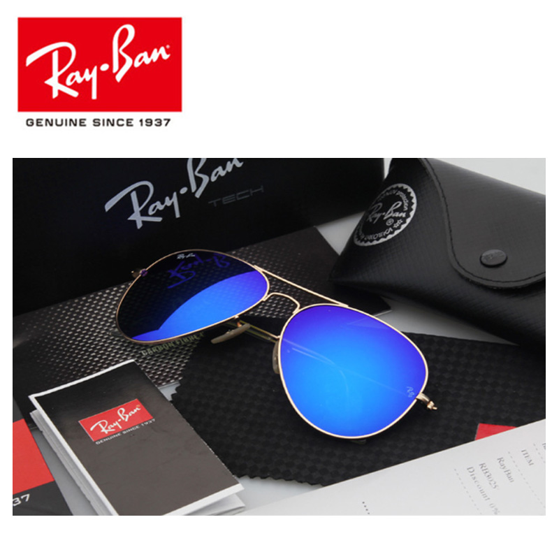 Classic Sun Glasses Rayban 3025 Sunglasses Aviator UV400 Protection Male Sun Glasses Eyeglasses Rayban RB3025