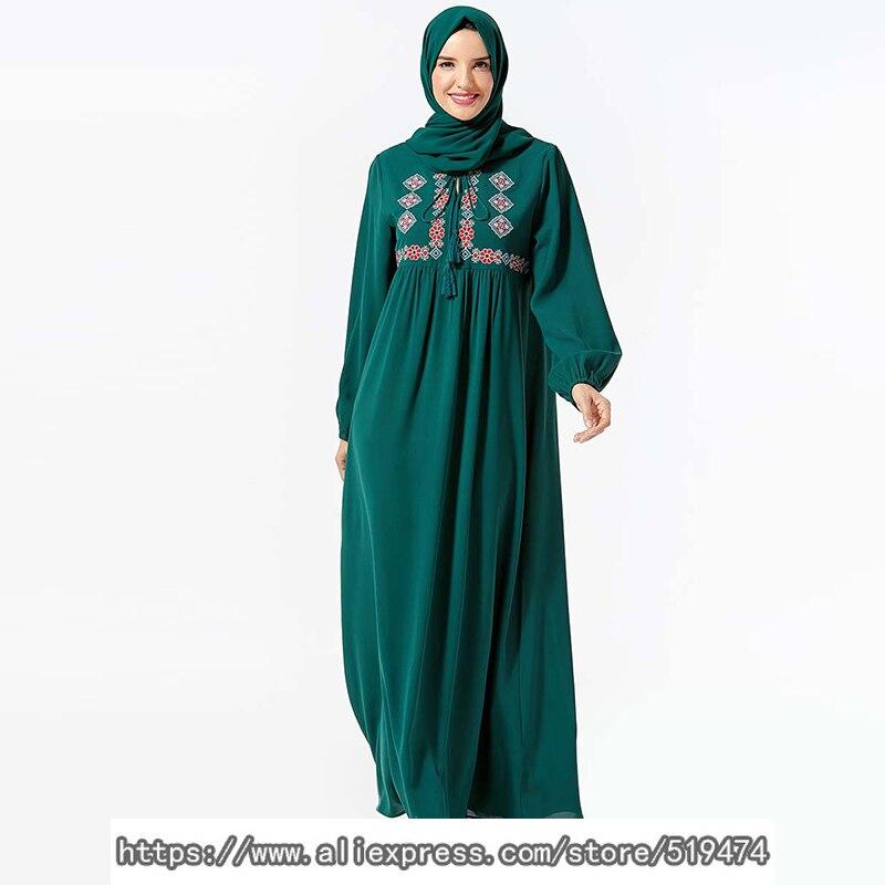 Abaya Caftan Dubai Islamic Muslim Dress Women Turkey Pakistan Kaftan Elbise Ramadan Dresses Vestidos Arabes Robe Femme Musulmane