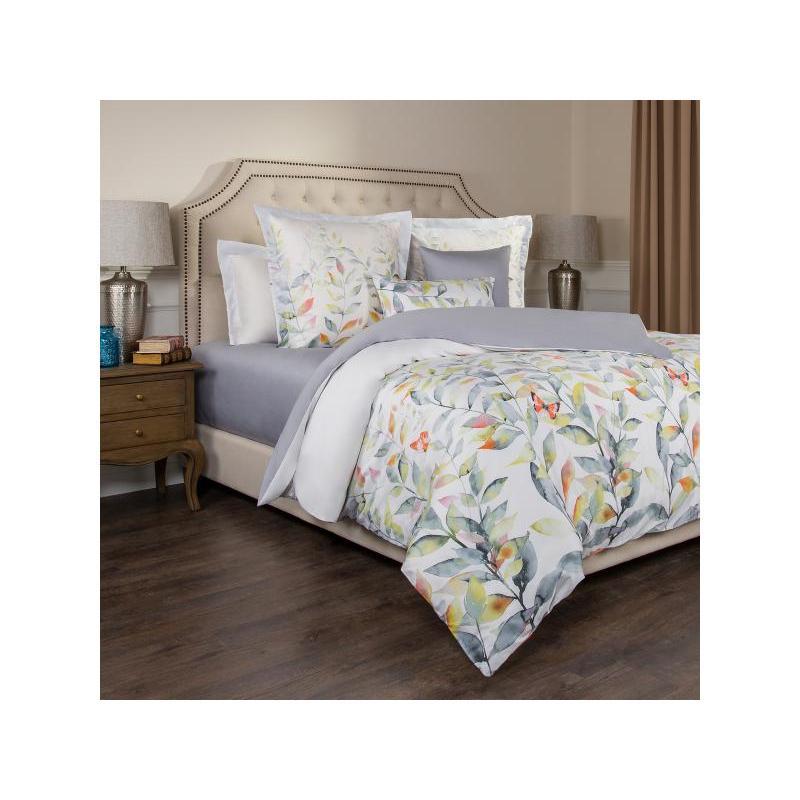 Bedding Set Double SANTALINO, HARMONICA, White
