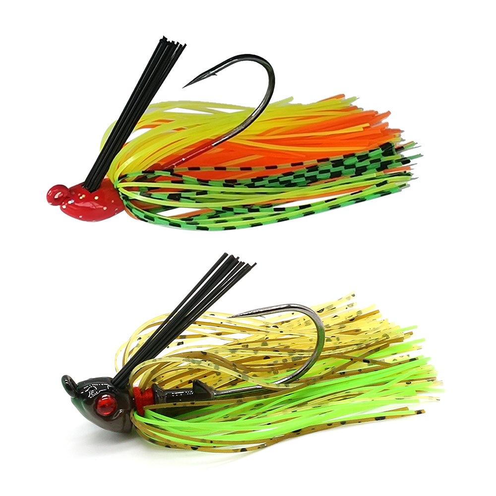 JonStar 1pc 7G/10G/15G Finesse Chatter bait spinnerbait fishing lure Buzzbait wobbler chatterbait for bass pike walleye fishing-3