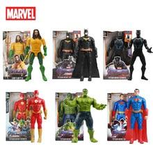 30cm de Los vengadores de Marvel juguetes veneno Flash Superman Spiderman Thanos Hulk Iron Man Thor MODELO DE figura de acción chico regalos