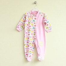 Для младенцев, детская одежда с мультипликационным рисунком футболка для мальчиков и девочек с длинным рукавом Папа Мама Детские комбинезоны Babygrow, спальные комплекты, размер ребенка ползунки 0-24Months
