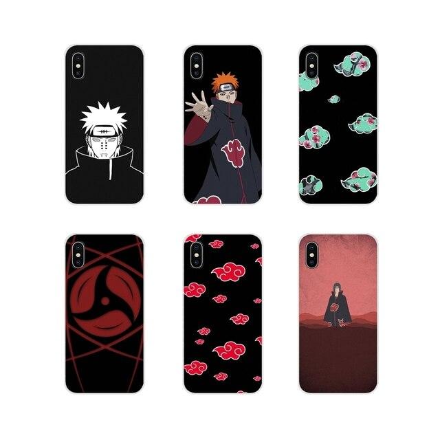Naruto AKATSUKI Für Xiaomi Mi4 Mi5 Mi5S Mi6 Mi A1 A2 A3 5X 6X 8 CC 9 T Lite SE pro Zubehör Telefon Shell Abdeckungen