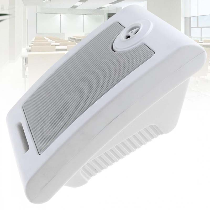 10W Fashion Wall-mounted Ceiling Speaker Public Broadcast Music System Loudspeaker For Park School Shopping Mall Railway Station