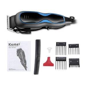 Image 5 - Regulowana elektryczna maszynka do strzyżenia włosów 12W AC220   240V maszynka do strzyżenia włosów Clipper strzyżenie urządzenie do stylizacji z grzebieniem ścinanie włosów maszyna 41D