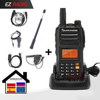 La banda Original de iluminación led en TG-UV2 Plus 10W Radio de 10KM de walkie talkie 10 km de actualización de tg-uv2 Radio 10W walkie talkie 10 km
