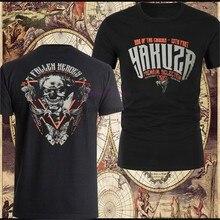 Kühlen YAKUZA PREMIUM T-Shirt YPS Schwarz T-shirts Aus Baumwolle Rundhals T-shirt