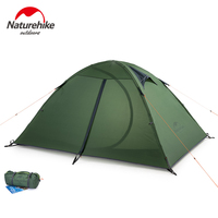 Naturehike Camping Double layer 2 person Tent Outdoor Hiking Riding Picnic 3 Season 20D Nylon Tent