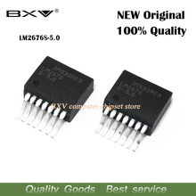 5 pçs/lote LM2676SX-5.0-NOPB TO263-7 IC REG BUCK 5V 3A TO263 LM2676S-5.0 LM2676 S-5.0
