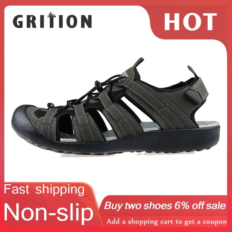 UK Size 13 Men's Gents Sports Sandal Shoes Running Outdoor Beach Summer Comfy