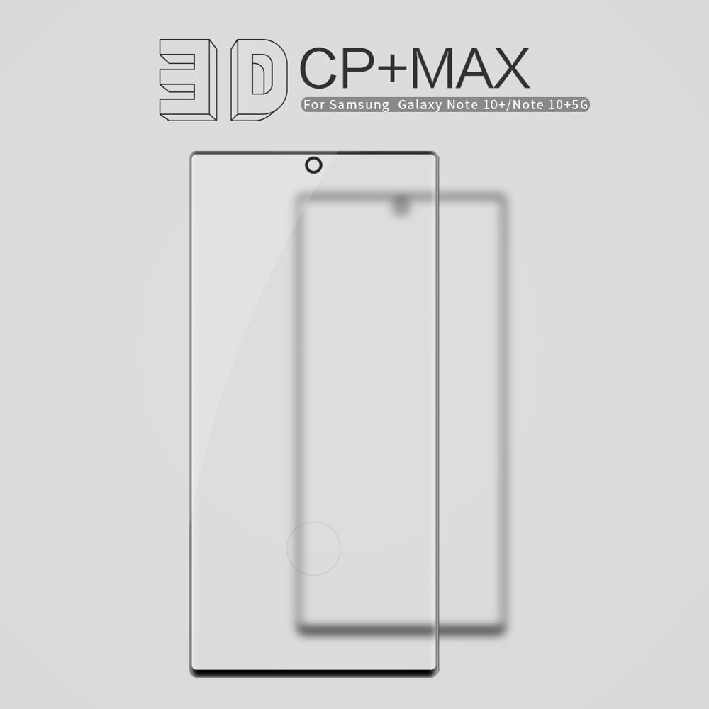 Image 2 - for Samsung Galaxy Note 10 9 8 S10 S9 S8 Plus Glass Screen Protector Nillkin 3D Full Glue Cover Tempered Glass for Samsung S10E-in Phone Screen Protectors from Cellphones & Telecommunications on