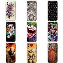 Unieke Voor Apple iPhone 11 X XS Max XR Pro Max 4 4S 5 5S SE 6 6S 7 8 Plus Baiser Rock Band Schedel(China)