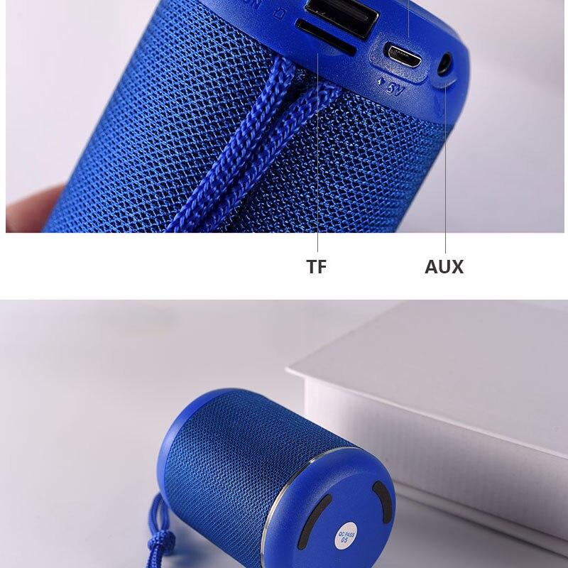 Купить мини bluetooth динамик hi fl стерео высокая точность aux колонка