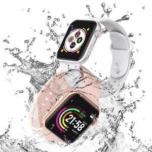 Image 5 - Новые умные часы для мужчин, трекер сердечного ритма PK P68 W34 iwo 9, женские часы SmartWatch iwo 8/iwo 10 для Apple IOS android