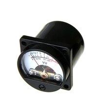 VU Meter panel Kit 2 шт. аналоговый VU Meter+ плата драйвера+ кабель с подсветкой 10-12 В 500UA для AMP