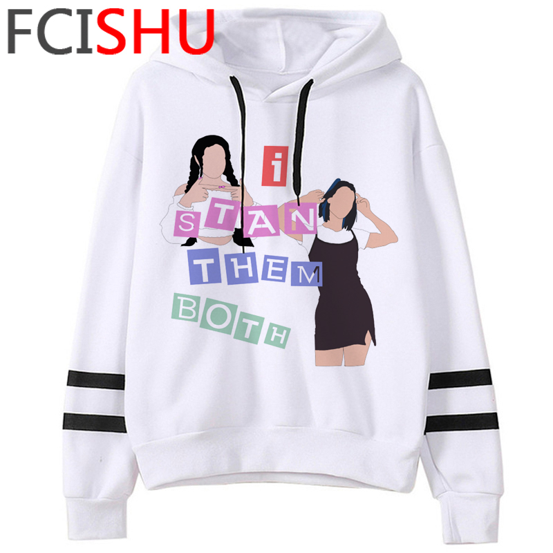 Fashion Charli Damelio Merch Ice Coffee Graphic Hoodies Women Harajuku Ullzang Funny Cartoon Sweatshirt Wimter Warm Hoody Female 16