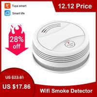 CPVan SM05W Fire Wifi Smoke Detector Wireless Smoke Detector Tuya APP Control Home Smoke Alarm WiFi rookmelder датчик дыма