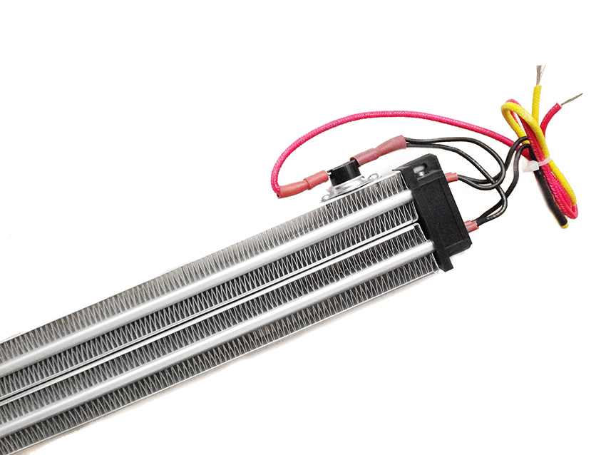 220 Вт В 2000 в постоянная температура PTC керамический нагреватель воздуха изолированный 380*50 мм