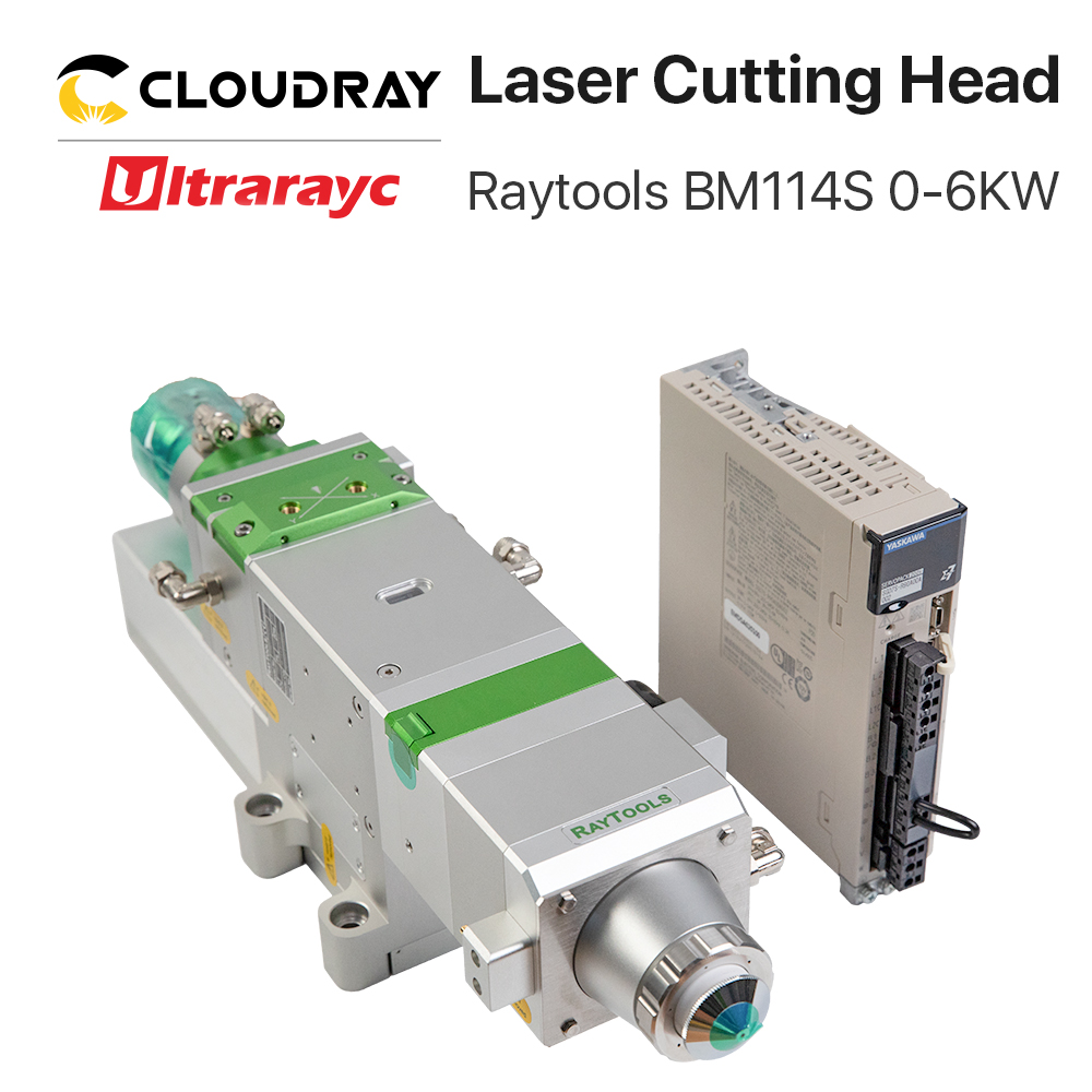 Raytools BM114S 0-6 KW Auto Focusing Fiber Laser Cutting Head For Metal Cutting