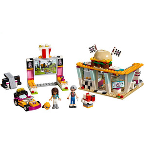 Image 3 - Lepining  Friends set Girl Series Toys Dolphin Cruiser Competible 41015 Model Building Blocks Bricks Educational Kids Toys Gifts