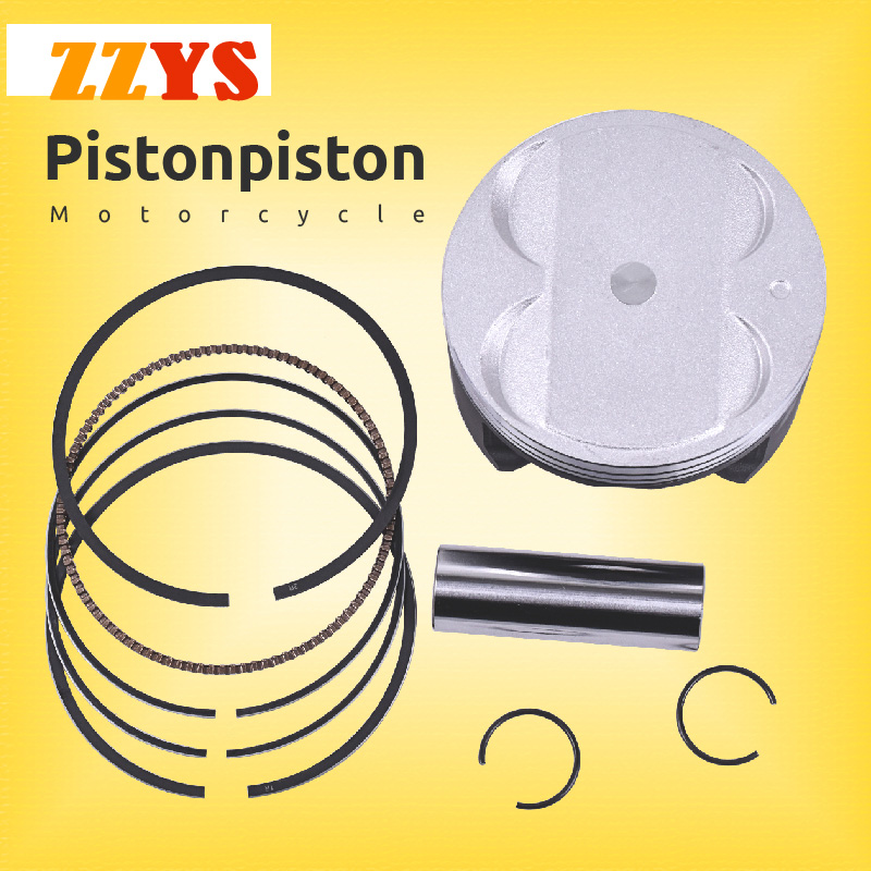83mm 83.25mm 83.5mm 83.75mm 84mm Motorcycle Piston and Ring Kit For Suzuki AN400 AN 400 Burgman Skywave 400 DL650 SV650 DR350