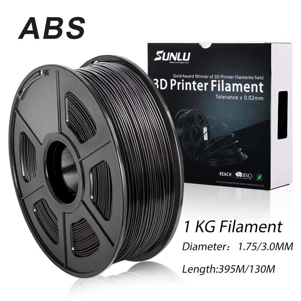 Sunlu 3d impressora filamento abs rolo de plástico impressora 3d filamento recarga 3d impressão abs produzir da fábrica sunlu|Materiais de impressão 3D| |  - title=